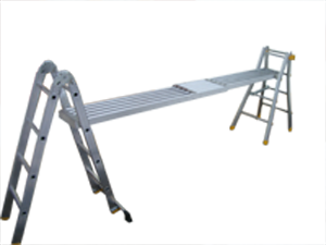 Brunner alu teleskopleiter laddy
